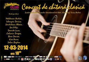 Concert de chitara clasica