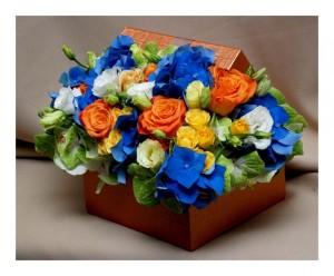 Cutie colorata cu flori-1024x847
