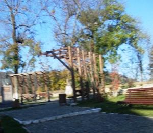 parc si statuia lui Petofi