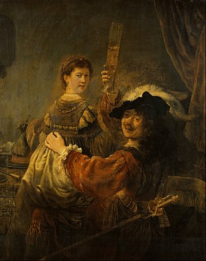300px-Rembrandt_-_Rembrandt_and_Saskia_in_the_Scene_of_the_Prodigal_Son_-_Google_Art_Project.jpg